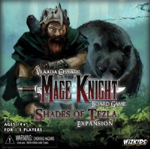 Mage Knight : Shades of Tezla Expansion